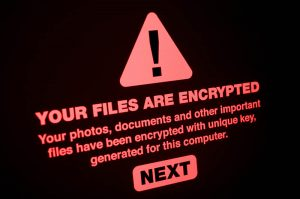 files are encrypted ransomware business computer